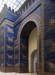Ishtarpoort, Babylon, Irak, 6e eeuw. Pergamommuseum Berlijn